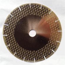 Herramientas de corte de granito de mármol de 230 mm disco de diamante con brida