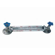 Prueba de monitoreo de nivel de tanque - Medidor de nivel de tubo de vidrio ordinario
