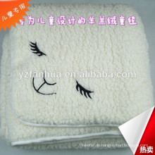 qualitativ hochwertige super weichem Fleece Baby-Decke-Fabrik