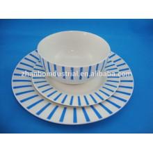 Vajilla de cerámica de colores, vajilla de cerámica
