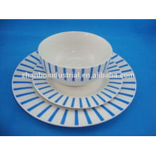 Colourful ceramic tableware , ceramic dishware