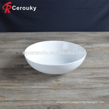 Hotel restaurant ceramic soup serving bowl ceramic bowl