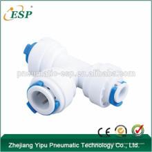 Connecteurs de branche ESP T raccords d'eau en PVC raccords de tuyauterie de coude 3 voies