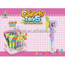heart shape fan candy toys