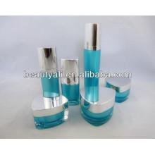 15ml 30ml botella de acrílico de embalaje cosmética de lujo de 50ml