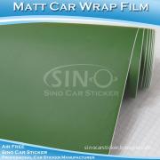 5ft X 98ft Matte Army Green Decorative Sticker Car PVC Foil