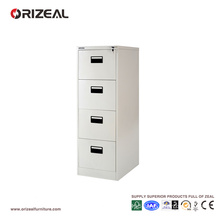 Orizeal 4 Drawer Filing Cabinet with Anti Tilted Lock (OZ-OSC022)