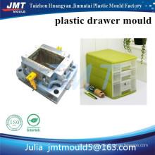 Molde de inyección de plástico de almacenamiento de cajón práctico de JMT Huangyan OEM
