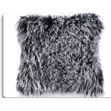 OEM Custom Biru Mongolia Lamb Fur Bantal