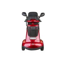 Luxus-Senioren-Roller mit Vorder- und Rücksitz