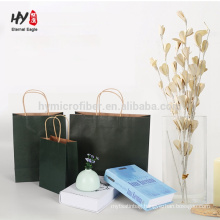 wholesale blank paper bag printed logo custom