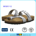 Tow Strap Ladies Slipper with Buckle