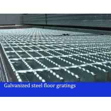Galvanizado Pressurizado Grades de Piso de Aço Soldadas