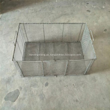Cesta do armazenamento do fio de metal para a cozinha / despensa / armário
