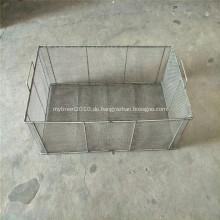 Metalldraht-Aufbewahrungskorb für Küche / Pantry / Schrank