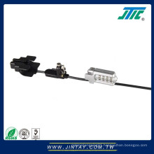 Multi-function security cable lcok for tablet