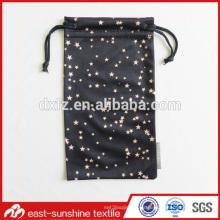 Heat Trasferred Logo Bolsa Bolsa de gafas de tela de microfibra