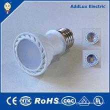 3W Dimmable PFEILER E27 Tageslicht / reine weiße LED-Scheinwerfer-Birne