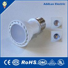 Luz do dia da ESPIGA E27 de 3W Dimmable / bulbo branco puro do projector do diodo emissor de luz