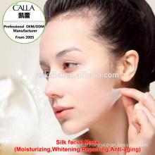 Japan silk face mask sheet natural skin firming products