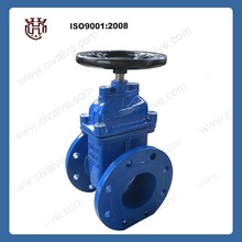 Resilient Seated Gate Valve/Sluice valve DIN3352 F4/BS5163 Non-rising stem Ductile Iron