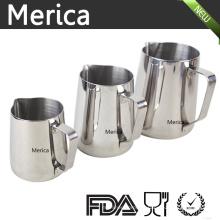 Différentes tailles en acier inoxydable Latte Art Frothing Pitcher