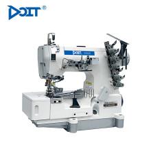 DT500-02BB flat bed tape vinculativo pano de bloqueio preço da máquina de costura
