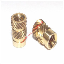 Double Threaded Insert Nut for Thermoplastic