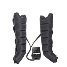 medical air compression  6 chambers rechargeable recovery boots massager for lymphedema relief