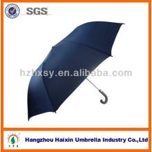 Holzgriff Auto öffnen 2 Falten-Regenschirm