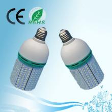 Hot sale energy saving led corn solar light parts 20w AC100-240V DC12V-24V E27 E26 B22 led corn bulb light with CE&RoHS