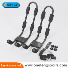 Steel kayak rack