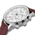 Auténticos hombres modernos reloj de cuarzo de moda de la cara grande leyenda relojes de lujo de los hombres Relogio masculino Relojes