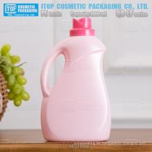 QB-LF1000 nueva llegada alta calidad flor tapa hdpe lavadero plástico botella detergente