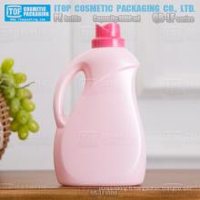 QB-LF1000 nouvelle arrivée haute qualité fleur cap PEHD plastique blanchisserie détergent bouteille