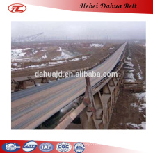 DHT-130 cold resistant polyester Rubber conveyor Belt factory