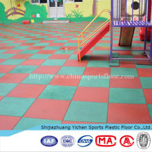 Pro-environment Outdoor Playground Rubber Tiles