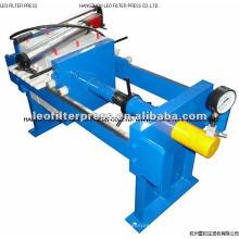 Prensa de filtro hidráulico manual, prensa de filtro de cámara de operación manual de tamaño pequeño Diseñado por prensa de filtro Leo
