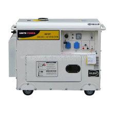 Groupe électrogène diesel silencieux à usage domestique Unite Power 5kVA (UE6500T)