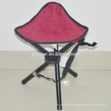 Outdoor Small Folding cadeira de pesca / outdoor beach cadeira de lona de praia