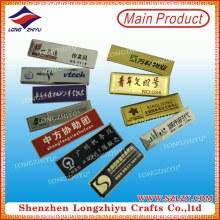 Various Name Badges Manufacturer Metal Name Badges Wholesale
