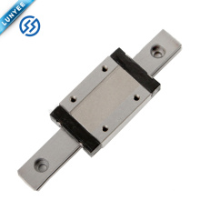 Precio bajo HSR 15mm-55mm guía lineal CNC lineal rodamiento