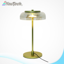Copper Glass Cover LED Desk Light