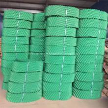 Paquet de remplissages ronds en PVC de tours de refroidissement résistant à la chaleur