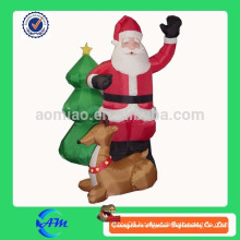 low price inflatable santa claus inflatable moose inflatable christmas tree for decoration