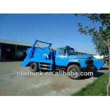 Dongfeng 6000L para 8000L swing braço caminhão de lixo