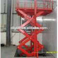 Ascenseur d'ascenseur de marchandises hydrauliques stationnaires
