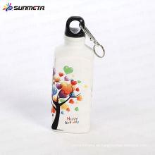 Sublimación Deportes Botellas de Agua Forma Cuadrada 500ML