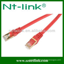 Utp/ftp flat cat6a patch cord