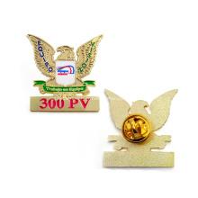 Insignes militaires personnalisés en métal émaillé or Eagle